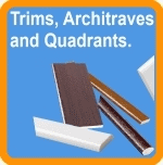 Upvc Window Trims, Arc and Mouldings