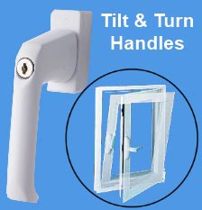 Tilt and Turn Window Handles