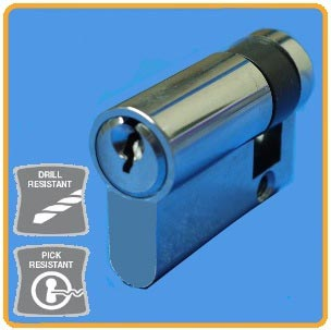 Half Euro Cylinder Barrel