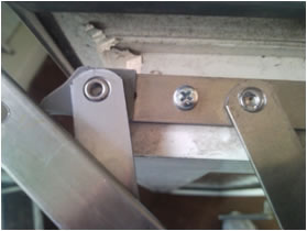 How To Remove Rivets From A Upvc Window Hinge