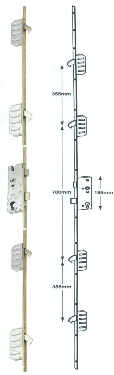 Fork Lift Lever Functions : Winkhaus cobra upvc door lock hook lift lever or split